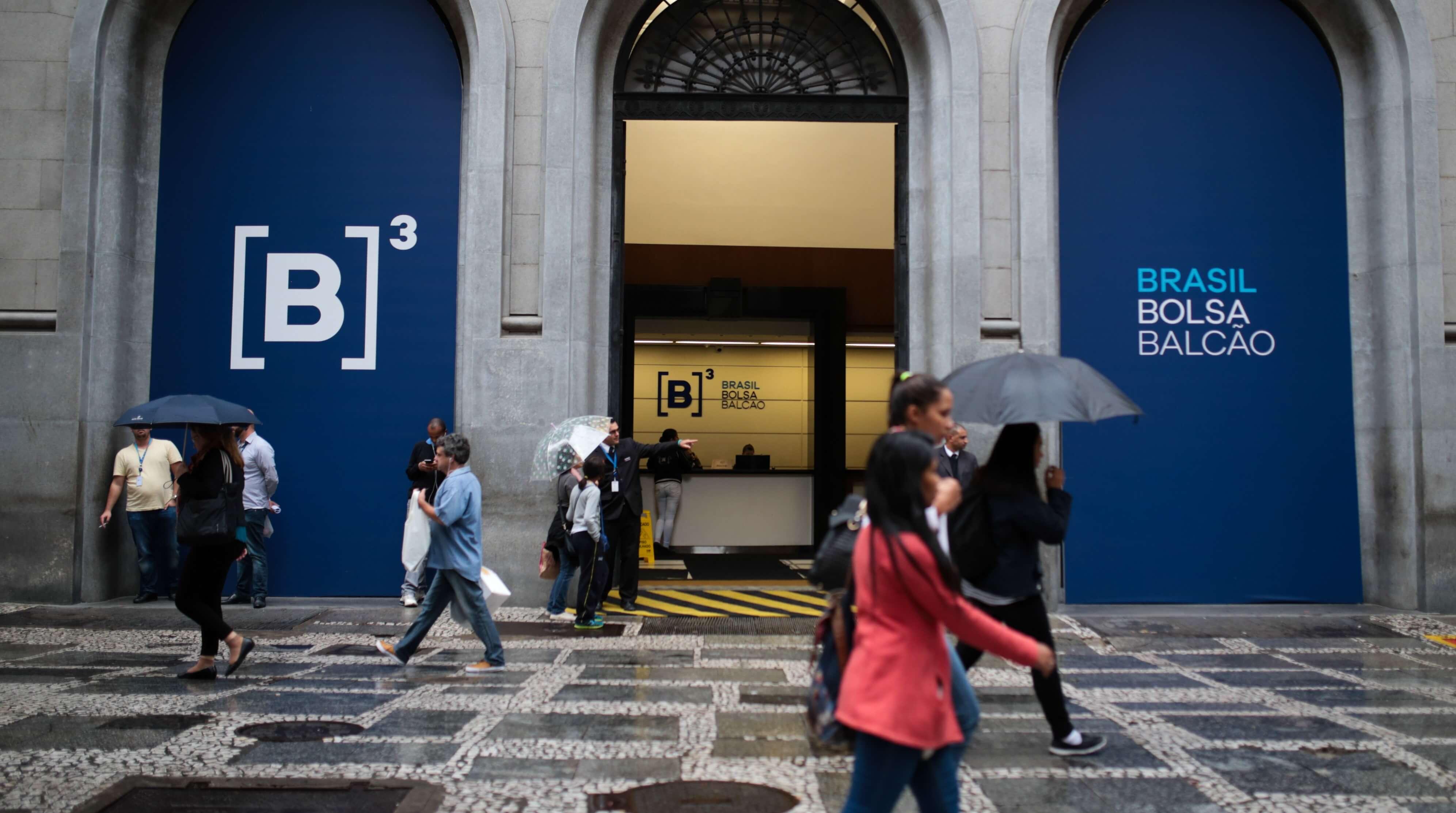 B3 - Foto: Bloomberg