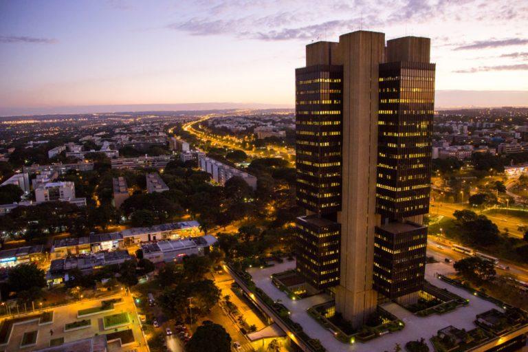 edifício sede em Brasília