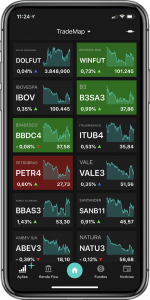 app trademap em celular
