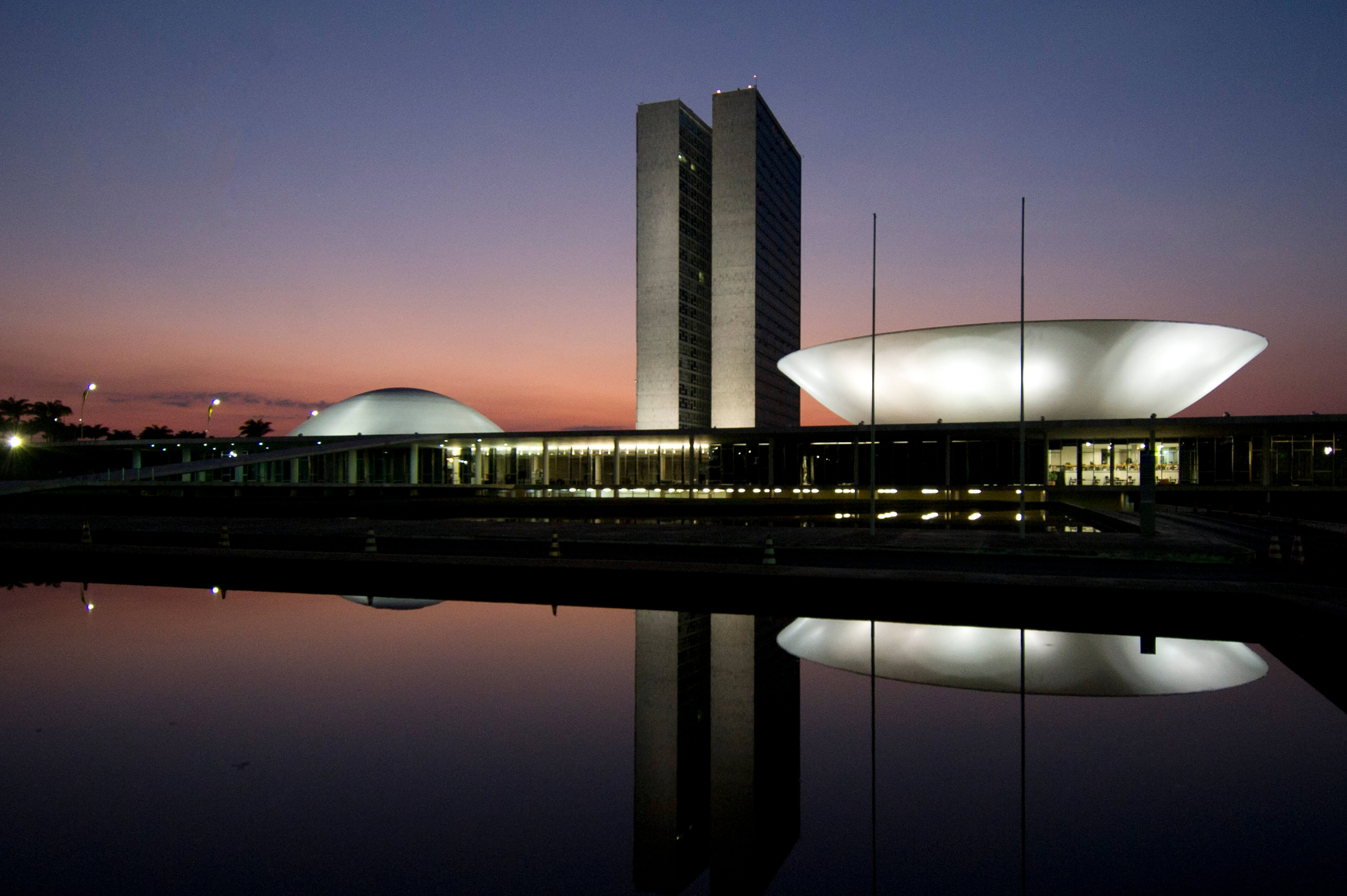 brasilia congresso noite