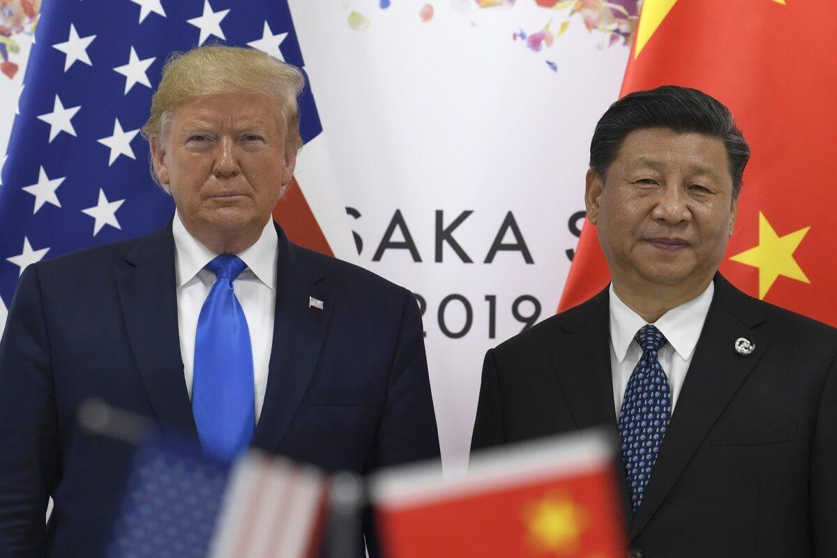 Donald Trump e Xi Jiping