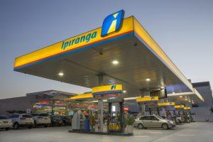Posto de combustível do Ipiranga