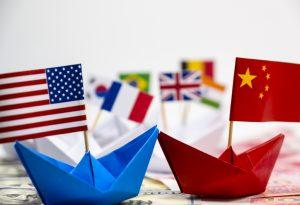 barcos de papel eua china