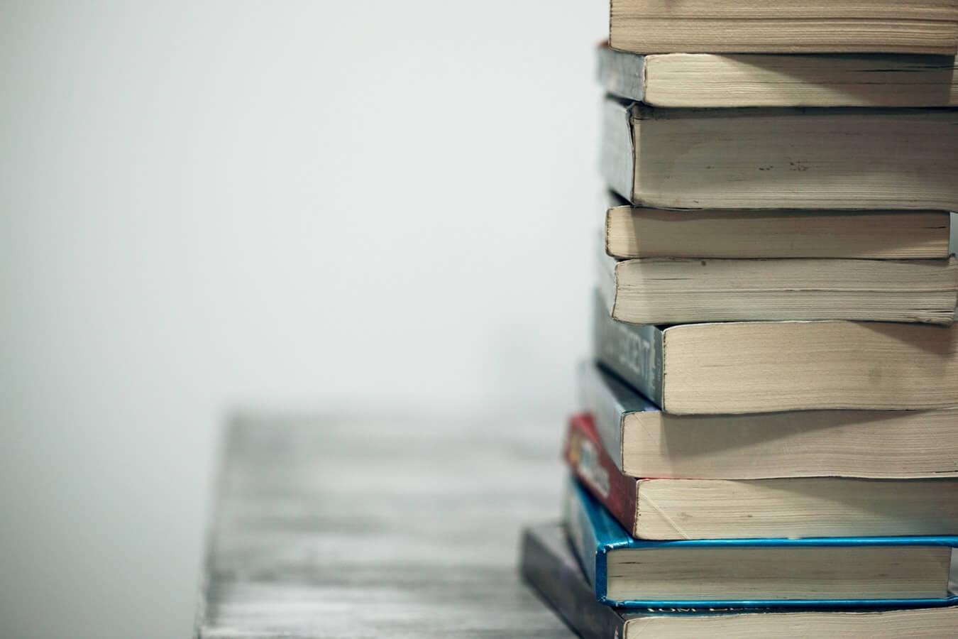 Livros, fote de Unsplash