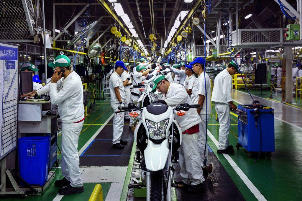 Produção industrial, foto de Lalo de Almeida - Folhapress