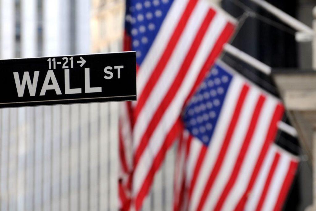 Bandeira EUA, foto de Bloomberg
