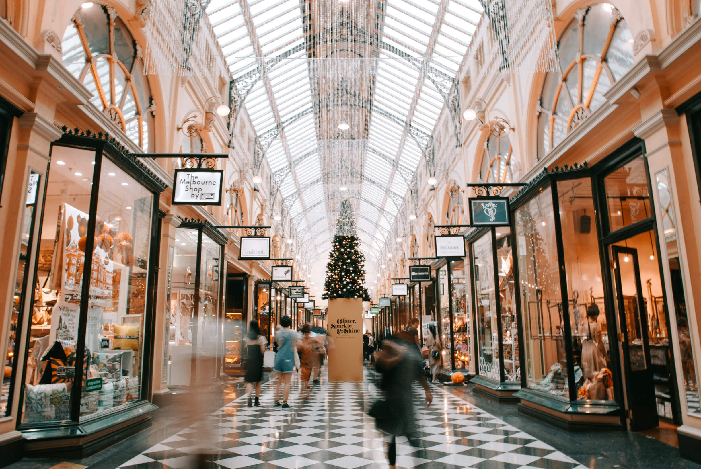 Shopping Center, foto de Unsplash