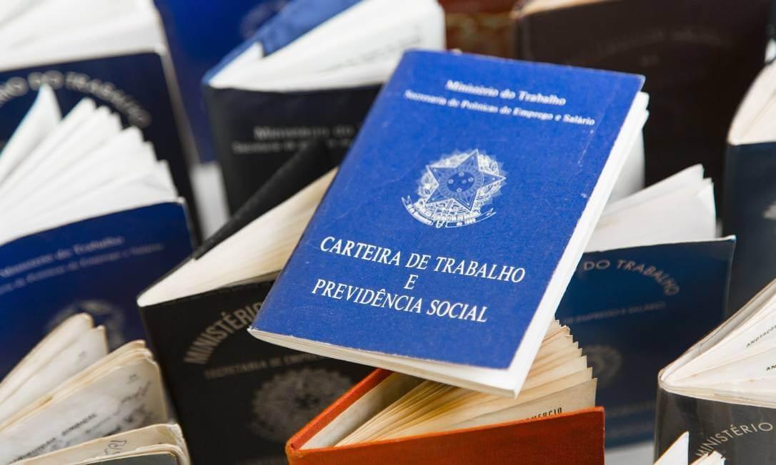 Taxa de desemprego cai para 11% no quarto trimestre, foto de Leo Martins - O Globo