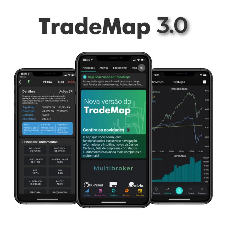 TradeMap 3.0: conheça as novidades da nova versão do app
