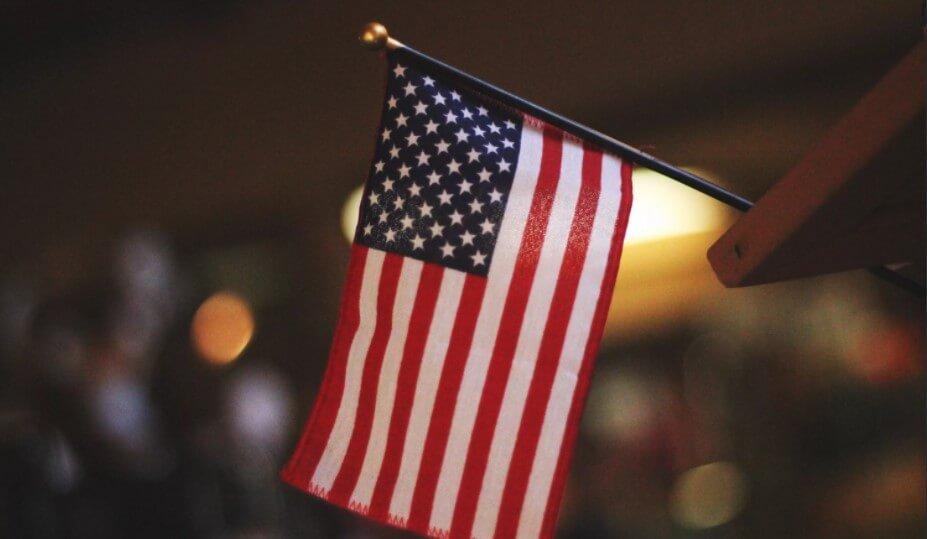 Bandeira EUA Unsplash