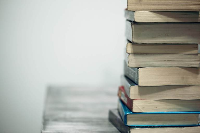 Livros Unsplash