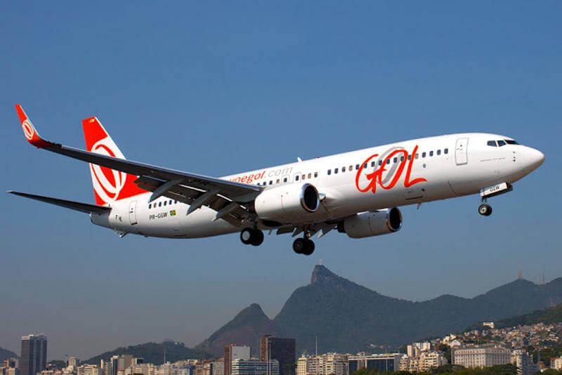 Demanda de voos total da Gol recua 36,4% em dezembro
