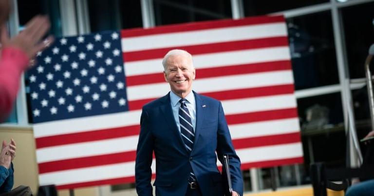 Joe Biden Partido Democrata Divulgacao