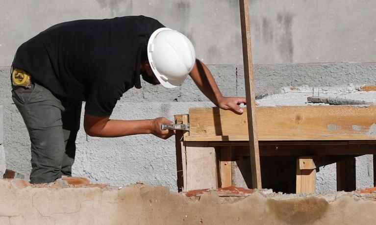 Construção civil - foto de Fernando Frazão, da Agência Brasil