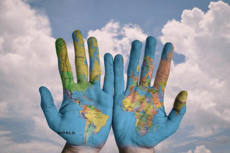 Mapa mundi pixabay
